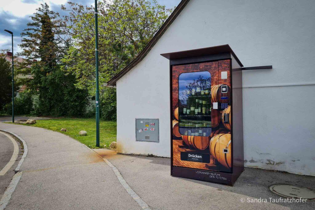 Weinautomat Gumpoldskirchen (© Sandra Taufratzhofer)
